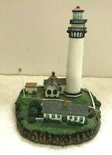 Pigeon Point Lighthouse Pescadero California The Danbury Mint Figurine Light