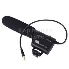Pixel Microphone MC-50 Camera Mounted Shotgun For Canon Nikon Sony Blackmagic