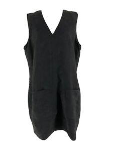 Mossimo Women's Black V-Neck Zip Down Back Sleeveless Sheath Dress Size XXL NEW
