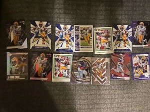 JA'MARR CHASE *ROOKIE* 2021 CHRONICLES - SPECTRA - SILVER HOLO FOIL Prizm Lot
