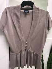 Witchery  Cardigan Beige  Cotton Blend Small  VERY CUTE