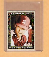 Cal Ripken '81 Rochester Red Wings minor league card by Superior only 500 exist