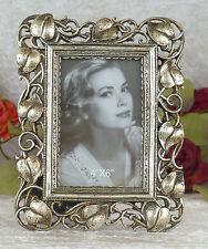 Bilderrahmen Antik Fotorahmen Romantik Rahmen Prunkrahmen silber Stehrahmen Deko
