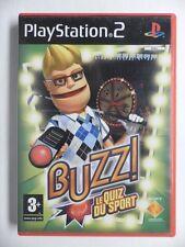 COMPLET jeu BUZZ LE QUIZ DU SPORT sur playstation 2 PS2 en francais juego gioco