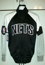 N.B.A brooklyn Nets mitchell and ness first quater track jacket