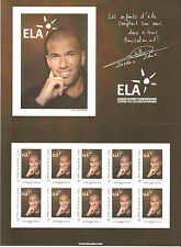 FRANCE 2010...COLLECTOR OF 10 STAMPS  MNH ** ...ZINEDINE ZIDANE