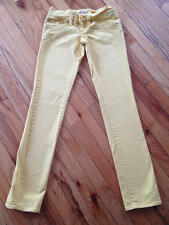 H2j yellow skinny jeans pants size 1/2
