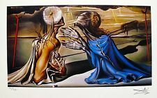 Salvador Dali TRISTAN AND ISOLDE Facsimile Signed & Numbered Giclee