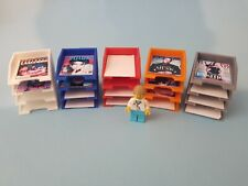 More details for 1-6th scale a4 letter tray, desk tidy with 4 sections. 3 pack