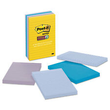 Post-it Notes Super Sticky Pads in New York Colors Notes 4 x 6 90-Sheets/Pad 5