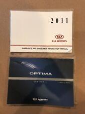 2011 Kia Optima Owner Owners Manual