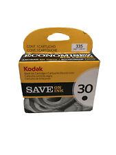 Kodak Original 30 Black Ink Cartridge- Brand New