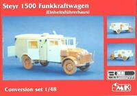 1/48 Steyr 1500 Funkkraftwagen Conversion Resin & Photo Etch Tamiya Kit CMK 8033