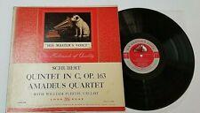 SCHUBERT AMADEUS QUARTET PLEETH LP QUINTET IN C RCA HMV LHMV-1051 6S/2S
