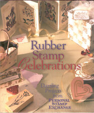 Rubber Stamp Celebrations Dazzling Projects Personal Stamp Exchange Book HC DJ