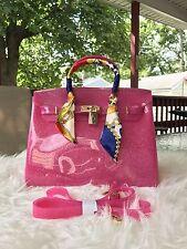 Summer Beach Jelly Handbag Birkins Beachkins Bag Waterproof