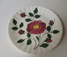 Vintage Blue Ridge Southern Potteries Red Nocturne Colonial Dinner Plate