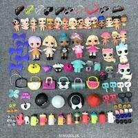 Lot 100 pcs lol surprise doll unicorn lil pet & outfit dress shoes toys gift
