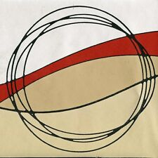 Modern Geometric Circle Wallpaper Border - ONLY $6 - RedGold Norwall Borders 901