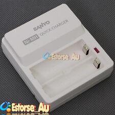 NEW SANYO Eneloop NC-TDR02 AA Ni-MH Rechargable Battery Charger