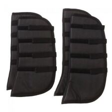 Tough-1 Set of 4 Black Felt Lined Shipping Boots Horse Tack Equine 67-567000