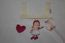 Sterntaler Hexe Helene Kinderwagenkette Stofftier Mobile Babyschale Maxi Cosi