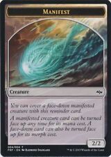 25X 2/2 Colorless Manifest Token (4/4) NM Fate Reforged MTG Magic Card