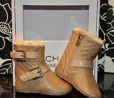 940e30b32dfd Michael Kors - 'Baby Harmony' Bootie - Gold Shimmer Saffian ...