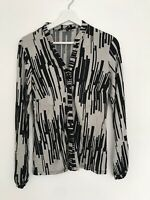 Ladies Size 12 M&co Top <AA111