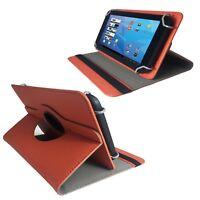 Tablet Tasche für Universal 10.1 Zoll Hülle Etui Orange 10.1 Zoll 360