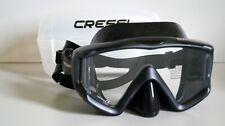New listing Cressi Liberty Triside Scuba Dive Mask, Black / Black DS455050