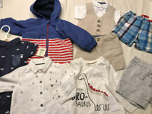 Baby Boy Clothes Bundle 3-6 Months Including Rain Mac