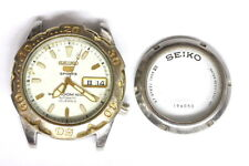 Seiko 7S36 sports vintage mens watch for Parts/Hobby/Watchmaker - 142855