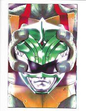 Power Rangers TMNT #3 1:25 variant cover (Raphael w/ Green Helmet)