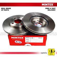 2X MINTEX FRONT DISC BRAKES MDC615 ALFA ROMEO 145 146 155 FIAT LANCIA GENUINE