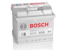 BOSCH 52 Ah Autobatterie S5 001 12V 52Ah bis zu 130% Leistung NEU