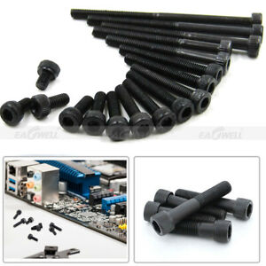 M3~M8 12.9 Grade Metric Black Alloy Steel Allen Hex Socket Cap Head Screw DIN912