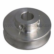 Metal 8mm Bore V Groove Drive Belt Pulley for Motor Shaft 3-5mm PU Round Belt