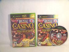 Bicycle Casino (Microsoft Xbox, 2004)  complete