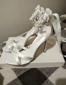 Dune Wedding Bridal Shoes Heels Size Uk6 (RRP £150)