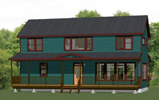 44x20 House -- 4 Bedroom 3 Bath -- 1,692 sq ft -- PDF Floor Plan -- Model 1F