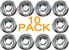"""10 Pack Bosch Thermador Gaggenau Cooktop 6"""" Chrome 142790 14-41-395 14-29-664"""