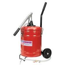 Sealey Lever Pump Wheeled Gear Oil Dispensing/Dispenser Unit 20ltr -Mobile- TP17