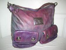 Coach POPPY Leather Hobo Shoulder Handbag.