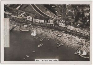 Southend-On-Sea England Longest Leisure Pier In The World 1930s Trade Ad Card