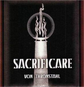 VON THRONSTAHL - SACRIFICARE  CD + EP - Vinyledition RAR! Der Blutharsch Triarii