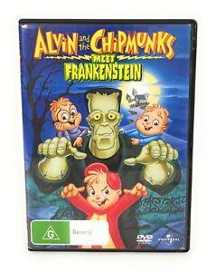 Alvin And The Chipmunks Meet Frankenstein (DVD, 1999) Michael Bell R4 Free Post