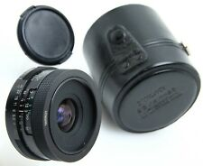Tamron 28mm f2.5 Adaptall 2 lens #028 BBAR MC w/case Mount not included 392296