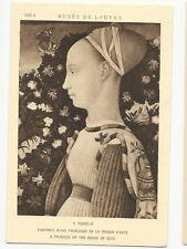 France - Paris, Musée du Louvre - V. PIsanello, A Princess of the - Art Postcard