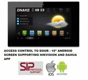 """Dnake 7"""" Android IP Intercom Monitor SIP VOIP Zigbee iPhone Android"""